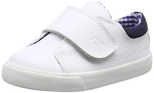 Kickers Tovnu Unio - Zapatilla baja Niños White (White)
