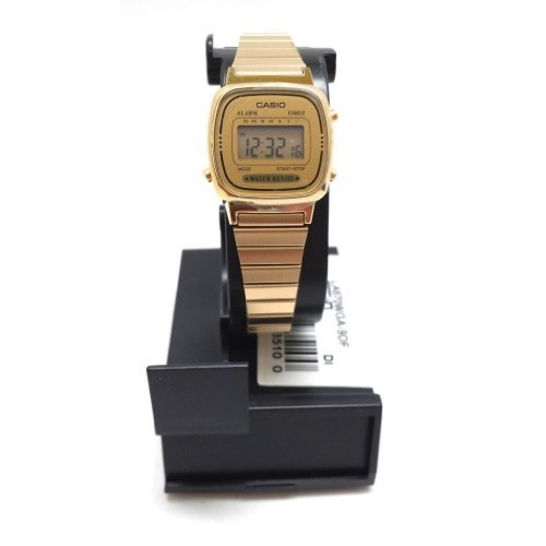 Casio LA670WGA Ladies Gold Stainless Steel Digital Classic V