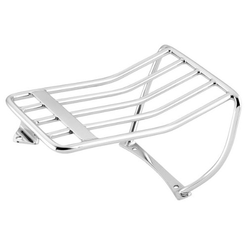 06-07 HARLEY FXST2: Biker's Choice Luggage Rack - Bobtail (Black)