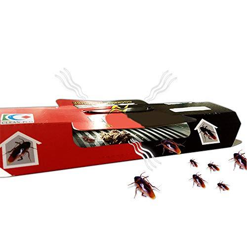 Shoppy Star Trampa de cucarachas Trampa de la casa Caza Asesino Insecto Insecto Cebo Neto Pegamento Inicio Control de plagas...