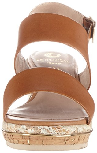 Sandals WoMen 28302 Be Brown Natural Heels 440 Wedge Nut xO7vcZwv