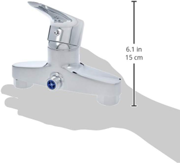 V/álvula mezcladora para ducha con mango superior cromo pulido Basics