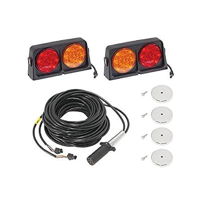 Wesbar 54003-041 Deluxe AG LED Transport Light Kit with Brake Light Function