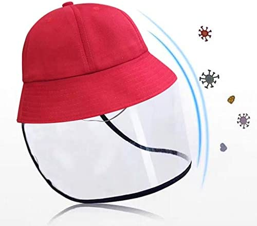 Toraway Child Casual Solid Anti-Spitting Hat Dustproof Cover Cap Bucket Hat for Kids Sun Protection Outdoor Sports hat