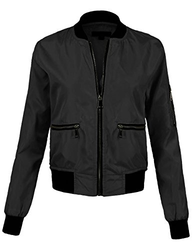 BEKTOME Womens Sleeve Fitted Jackets