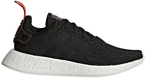 adidas Originals Men's NMD_R2 Running Shoe, Black/Future Har