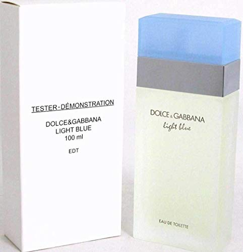 DOLCE & GABBANA Light Blue For Women Eau De Toilette Spray, 3.4 Ounce (Plain Box)
