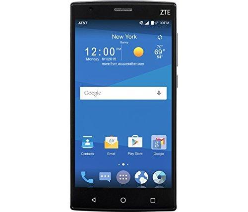 ZTE Z Max 2 16GB Unlocked GSM 4G LTE Quad-Core Android Smartphone w/ 8MP Camera - Black (Zte Zmax Cell Phone)