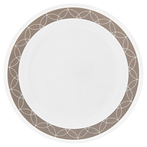 "Corelle Livingware Sand Sketch 8.5"" Lunch Plate (Set of 6)"