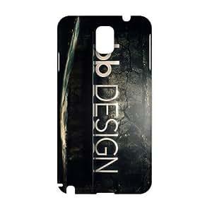 KJHI hd logo design 3D Phone Case for Samsung NOTE 3