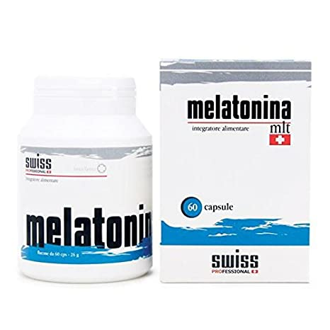 Swiss Melatonina 1mg 60 Caps