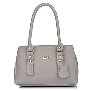 Fostelo Women's Westside Handbag (Grey) (FSB-1237)