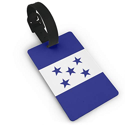 Sheery Honduran Flag Luggage Tags Business Card Holder Travel ID Bag Tag