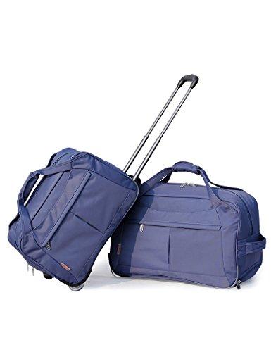Grau Blau Oxford Tuch Reisetasche Reise Trolley Tasche Falte Gepäck Taschen Wasserdicht Hochleistungs Reisetasche