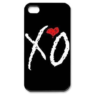 C-EUR Customized Print The Weeknd XO Pattern Back Case for iPhone 4/4S