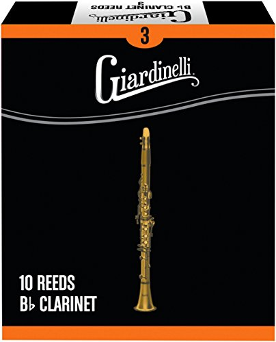 Giardinelli Bb Clarinet Reed 10-Pack 3 by Giardinelli (Image #1)
