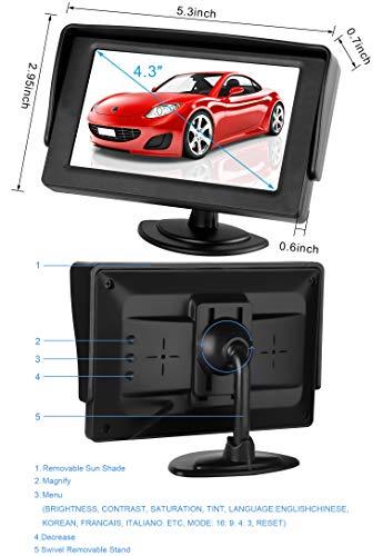 Dohonesbest Backup Camera Single Power For Car Rv Pickup