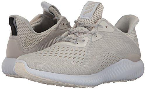 Adidas Performance Women's Alphabounce Em w Running Shoe, chalk White/White/Pearl Grey, 8 Medium US
