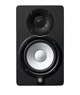 Yamaha HS5 Pair 2-way bass-reflex bi-amplified nearfield studio monitors with 5 inch woofers from Yamaha
