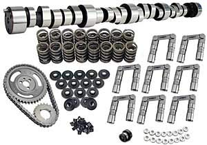 Lunati 40110734K Voodoo 255/263 Solid Roller Complete Cam Kit for Chevrolet Big - Roller Lunati Cams