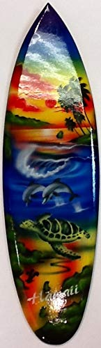 - Wooden Surfboard Wall Hanging