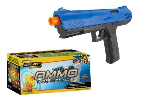 JT SplatMaster z100 Paintball Pistol .50 Cal Blue w/1000 Paintballs