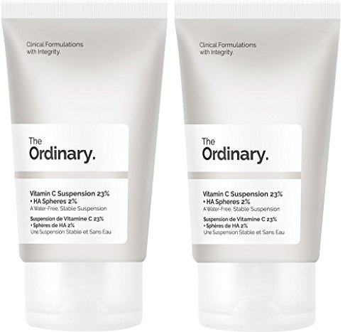 The Ordinary Vitamin C Suspension 23% + HA Spheres 2% 30ml (Pack of 2)
