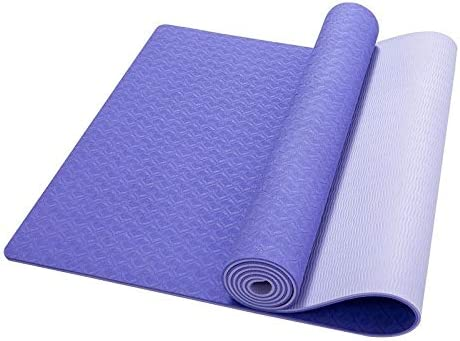 Yoga mat 環境に優しいTPEノンスリップヨガマット、質感ノンスリップ、最適なクッション workout