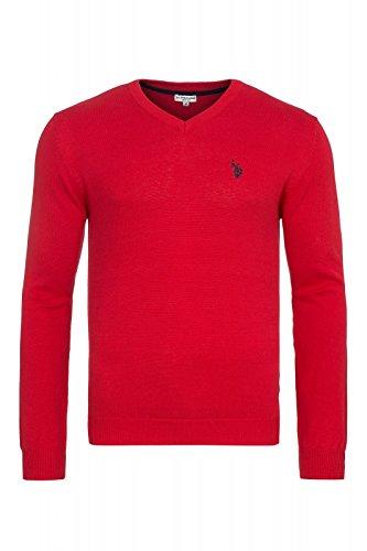 Homme Us Association Polo Pour Rouge Chandail qAaRxwBv