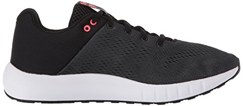Under Armour womens Micro G Pursuit Running Shoe, Black (001)/Anthracite, 8 (Best Nikes For Long Distance Running)