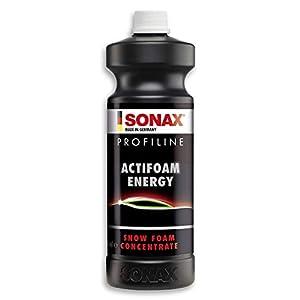 Sonax Profiline Actifoam energy (1 L) Est Un Puissant Produit Détergent À Haut Pouvoir Moussant pour Le lavage Manuel…