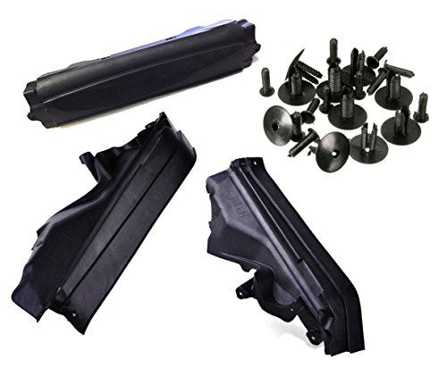 (4x RSTFA Engine Upper Compartment Partition Panel with Nylon Fastener for BMW X5 X 6 E70)