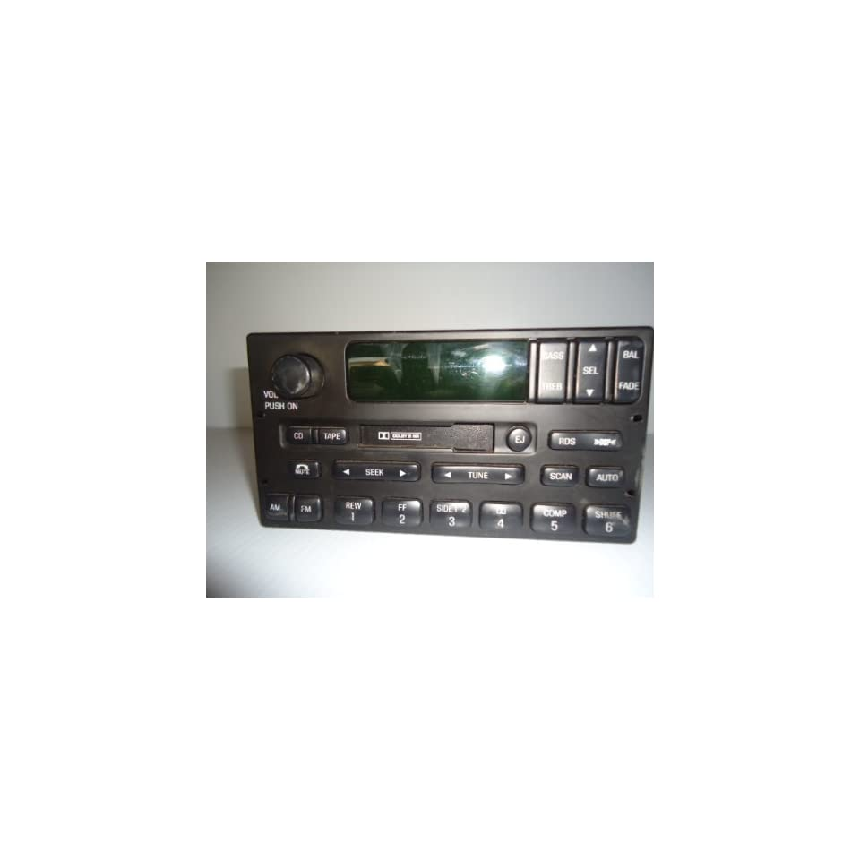 99 00 01 02 FORD EXPEDITION RADIO AM FM CASSETTE PLAYER