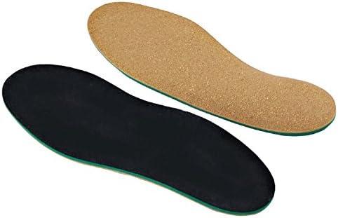 [Gesponsert]Green Feet Orthopädische Einlegesohle für Knickfuß I 47-48 Schuheinlage bei Senkfuß, Spreizfuß und Fersensporn...