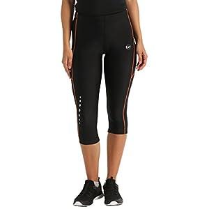Ultrasport – Effetto Compressivo E Funzione Quick Dry 3/4, Pantalone Jogging Lunghi Donna