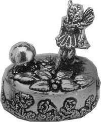 (Wentworth Pewter - Tooth Fairy trinket Box - H:45mm / 35mm x 25mm)