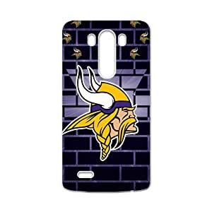 DASHUJUA Minnesota Vikings Fashion Comstom Plastic case cover For LG G3