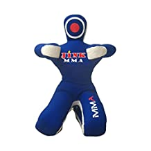 JINK MMA Martial Arts Judo Boxing Punching Bag Dummy - Sitting Position with hands in front