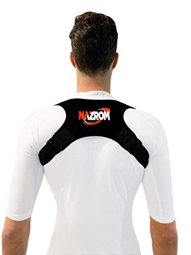 Adjustable Posture Corrector - Comfortable Shoulder & Back Brace for...