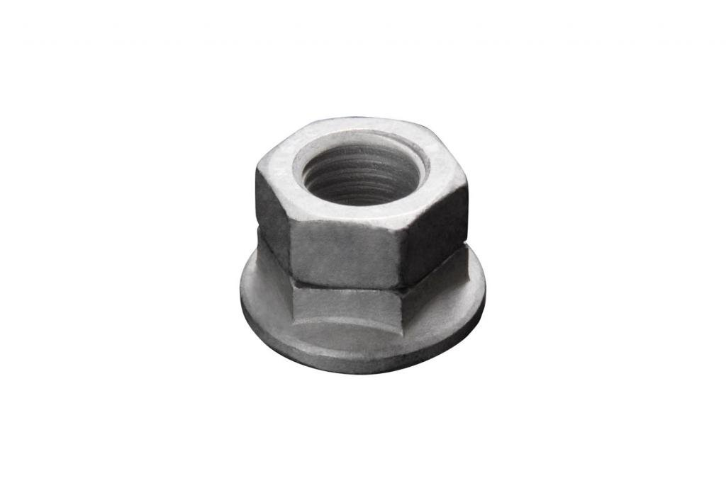 Disc-Lock Steel Hex Flange Vibration Proof Locknut Magni Finish, Thread Size 1/2''-20 UNF, 50 Pack
