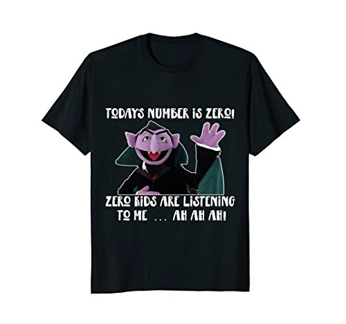 Today's number is ZERO T-shirt Teacher Gifts Fun Funny