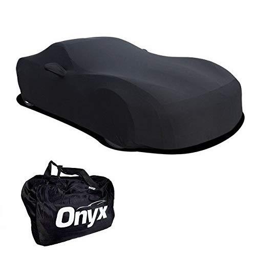 C6 Corvette HIGH END Onyx Black Satin Custom FIT Stretch Indoor CAR Cover FITS: All C6 05-13 CORVETTES