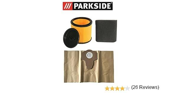 Juego de filtros Parkside filtro en húmedo, en seco y bolsas de ...