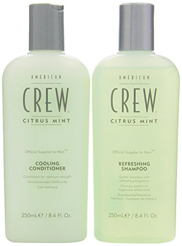 American Crew Daily Moisturizing Shampoo - American Crew Citrus Mint Cooling 8.45 oz. Shampoo + 8.45 oz. Conditioner (Combo Deal)