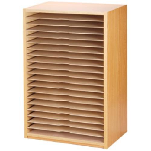 画用紙整理棚20段 139-508   B01B7MOM1C