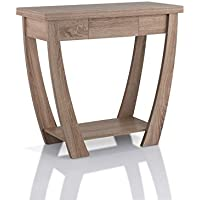 Furniture of America Quaint Console Table in Light Oak