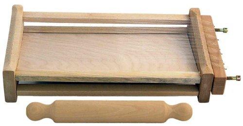 Eppicotispai Chitarra Pasta Cutter with 32cm/12.5-Inch Rolling Pin by Eppicotispai