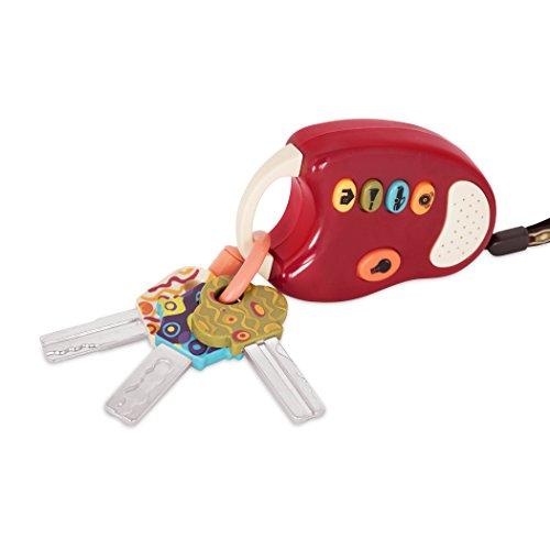 41 EYvA0mnL - B. Funkeys Lights & Sounds Toy Keys for Kids