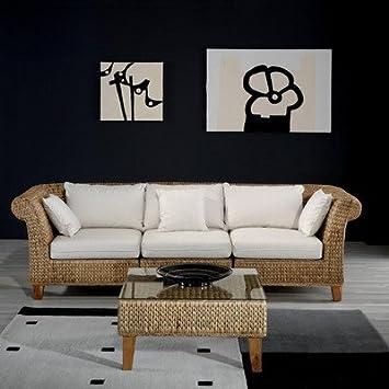 Seagrass Sofa Color: Standard Beige