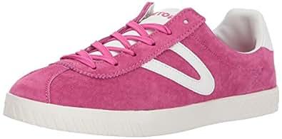TRETORN Women's Camden3 Sneaker, Pink, 4 Medium US